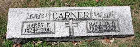 CARNER, MATILDA B - Richland County, Ohio | MATILDA B CARNER - Ohio Gravestone Photos