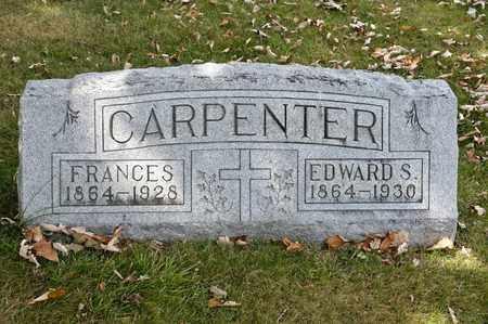 CARPENTER, FRANCES - Richland County, Ohio | FRANCES CARPENTER - Ohio Gravestone Photos