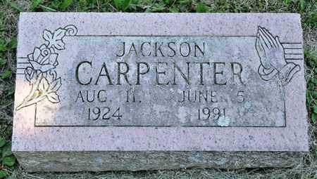 CARPENTER, JACKSON - Richland County, Ohio | JACKSON CARPENTER - Ohio Gravestone Photos