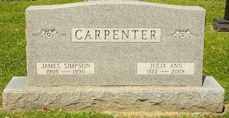CARPENTER, JULIA ANN - Richland County, Ohio | JULIA ANN CARPENTER - Ohio Gravestone Photos