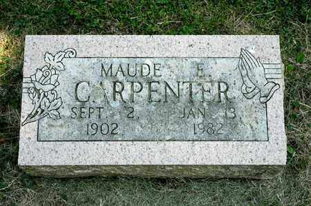 CARPENTER, MAUDE E - Richland County, Ohio | MAUDE E CARPENTER - Ohio Gravestone Photos