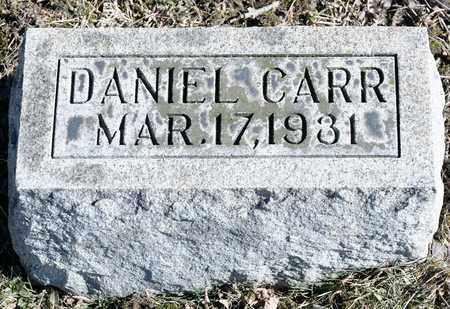 CARR, DANIEL - Richland County, Ohio | DANIEL CARR - Ohio Gravestone Photos
