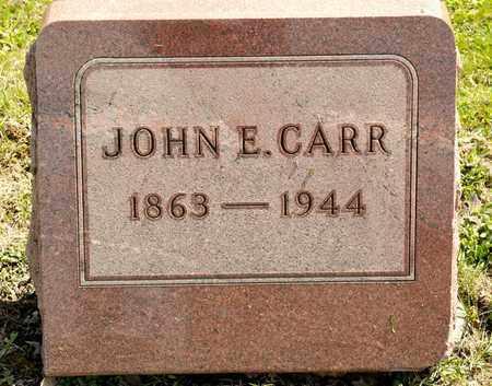 CARR, JOHN E - Richland County, Ohio | JOHN E CARR - Ohio Gravestone Photos