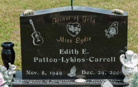CARROLL, EDITH E - Richland County, Ohio   EDITH E CARROLL - Ohio Gravestone Photos