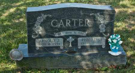 CARTER, ARNOLD J - Richland County, Ohio | ARNOLD J CARTER - Ohio Gravestone Photos