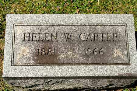 CARTER, HELEN W - Richland County, Ohio | HELEN W CARTER - Ohio Gravestone Photos