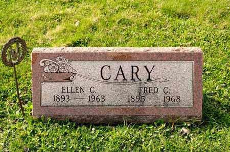 CARY, ELLEN C - Richland County, Ohio | ELLEN C CARY - Ohio Gravestone Photos
