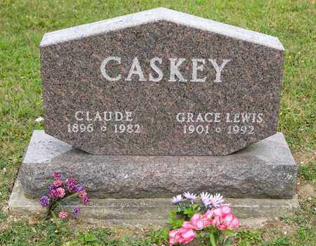 LEWIS CASKEY, GRACE - Richland County, Ohio | GRACE LEWIS CASKEY - Ohio Gravestone Photos