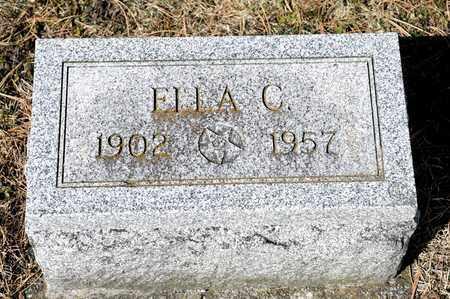 CASKEY, ELLA C - Richland County, Ohio | ELLA C CASKEY - Ohio Gravestone Photos