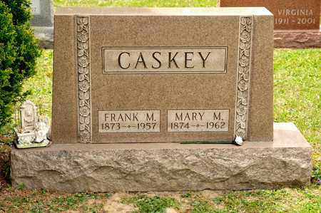 CASKEY, MARY M - Richland County, Ohio | MARY M CASKEY - Ohio Gravestone Photos