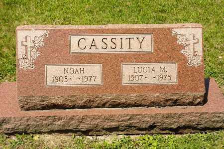 CASSITY, NOAH - Richland County, Ohio | NOAH CASSITY - Ohio Gravestone Photos