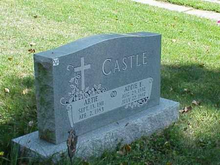 CASTLE, ARTIE - Richland County, Ohio | ARTIE CASTLE - Ohio Gravestone Photos