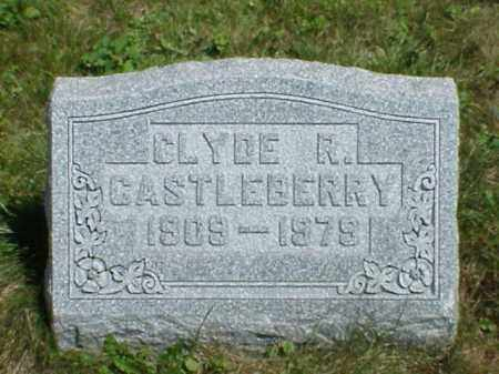 CASTLEBERRY, CLYDE R. - Richland County, Ohio | CLYDE R. CASTLEBERRY - Ohio Gravestone Photos