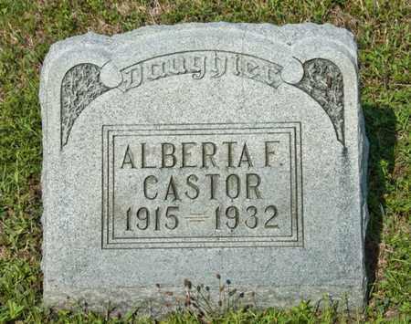 CASTOR, ALBERTA F - Richland County, Ohio | ALBERTA F CASTOR - Ohio Gravestone Photos