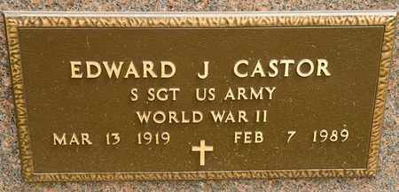 CASTOR, EDWARD J - Richland County, Ohio | EDWARD J CASTOR - Ohio Gravestone Photos