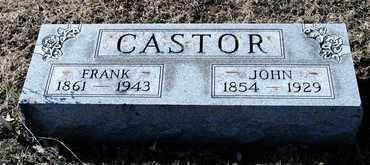 CASTOR, FRANK - Richland County, Ohio | FRANK CASTOR - Ohio Gravestone Photos