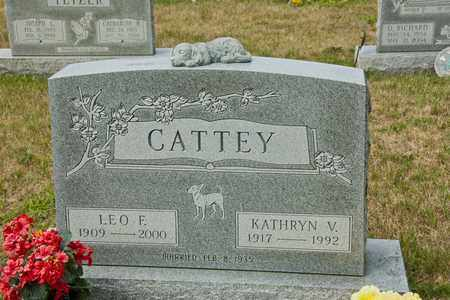 CATTEY, KATHRYN V - Richland County, Ohio | KATHRYN V CATTEY - Ohio Gravestone Photos