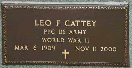CATTEY, LEO F - Richland County, Ohio | LEO F CATTEY - Ohio Gravestone Photos