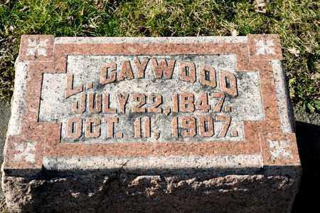 CAYWOOD, L - Richland County, Ohio | L CAYWOOD - Ohio Gravestone Photos