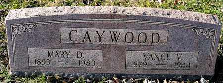 CAYWOOD, MARY D - Richland County, Ohio | MARY D CAYWOOD - Ohio Gravestone Photos