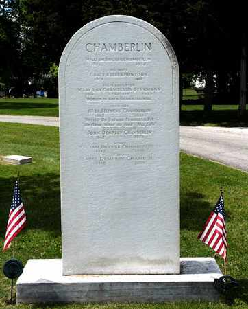 CHAMBERLIN, JOHN DEMPSEY - Richland County, Ohio | JOHN DEMPSEY CHAMBERLIN - Ohio Gravestone Photos