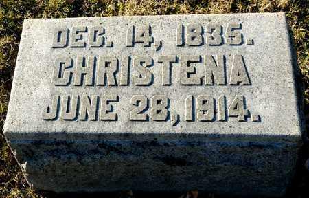 CHAMPION, CHRISTENA - Richland County, Ohio | CHRISTENA CHAMPION - Ohio Gravestone Photos