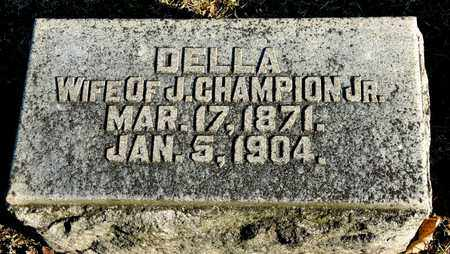 CHAMPION, DELLA - Richland County, Ohio | DELLA CHAMPION - Ohio Gravestone Photos