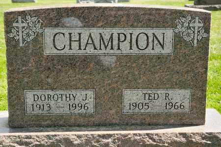 CHAMPION, DOROTHY J - Richland County, Ohio | DOROTHY J CHAMPION - Ohio Gravestone Photos