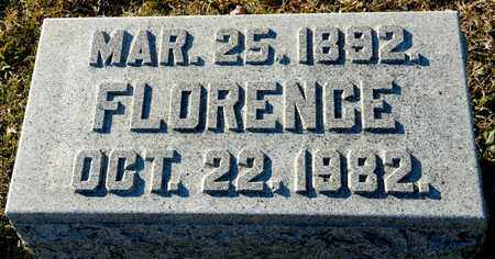 CHAMPION, FLORENCE - Richland County, Ohio | FLORENCE CHAMPION - Ohio Gravestone Photos