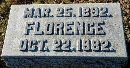 CHAMPION, FLORENCE - Richland County, Ohio | FLORENCE CHAMPION - Ohio Gravestone Photos