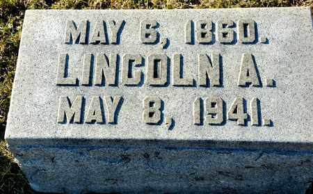 CHAMPION, LINCOLN A - Richland County, Ohio | LINCOLN A CHAMPION - Ohio Gravestone Photos