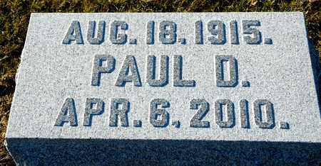 CHAMPION, PAUL D - Richland County, Ohio | PAUL D CHAMPION - Ohio Gravestone Photos