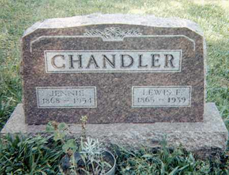 CHANDLER, LEWIS F. - Richland County, Ohio | LEWIS F. CHANDLER - Ohio Gravestone Photos