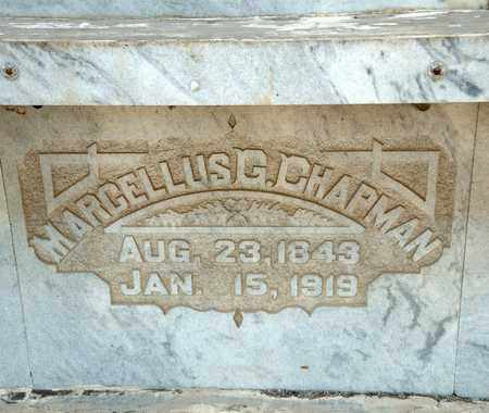 CHAPMAN, MARCELLUS G - Richland County, Ohio | MARCELLUS G CHAPMAN - Ohio Gravestone Photos