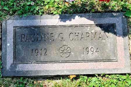 CHAPMAN, PAULINE G - Richland County, Ohio | PAULINE G CHAPMAN - Ohio Gravestone Photos