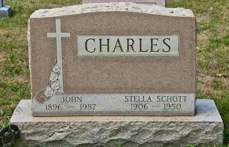 SCHOTT CHARLES, STELLA - Richland County, Ohio | STELLA SCHOTT CHARLES - Ohio Gravestone Photos