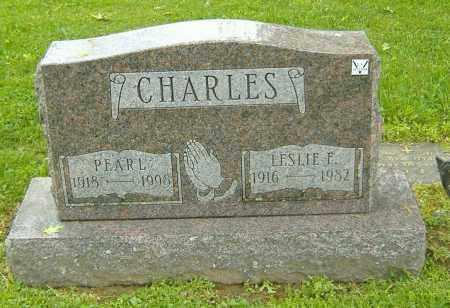 CHARLES, PEARL LENA - Richland County, Ohio | PEARL LENA CHARLES - Ohio Gravestone Photos