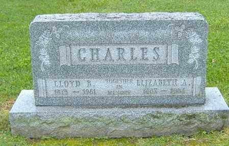 CHARLES, LLOYD BENTON - Richland County, Ohio | LLOYD BENTON CHARLES - Ohio Gravestone Photos