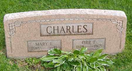 MILLER CHARLES, MARY LOVITA - Richland County, Ohio | MARY LOVITA MILLER CHARLES - Ohio Gravestone Photos