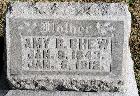CHEW, AMY B - Richland County, Ohio | AMY B CHEW - Ohio Gravestone Photos