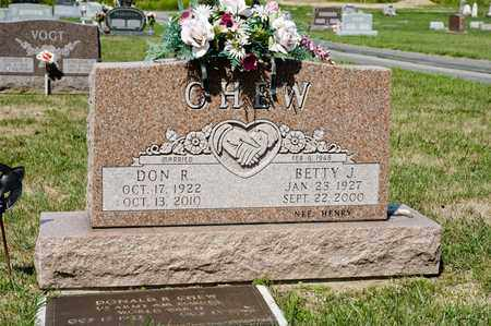 CHEW, BETTY J - Richland County, Ohio | BETTY J CHEW - Ohio Gravestone Photos