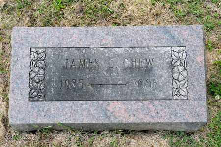 CHEW, JAMES L - Richland County, Ohio | JAMES L CHEW - Ohio Gravestone Photos