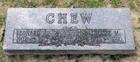 CHEW, LUCILLE M - Richland County, Ohio | LUCILLE M CHEW - Ohio Gravestone Photos