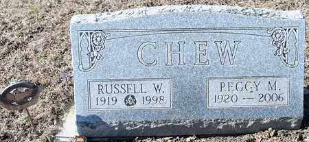 CHEW, PEGGY M - Richland County, Ohio | PEGGY M CHEW - Ohio Gravestone Photos