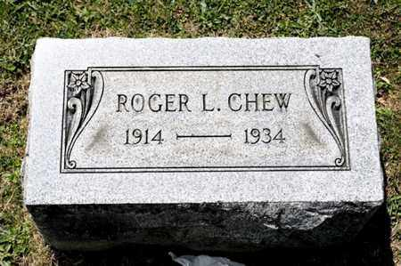 CHEW, ROGER L - Richland County, Ohio | ROGER L CHEW - Ohio Gravestone Photos