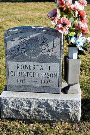 CHRISTOPHERSON, ROBERTA J - Richland County, Ohio | ROBERTA J CHRISTOPHERSON - Ohio Gravestone Photos