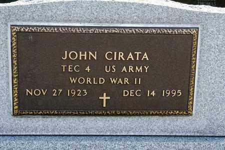CIRATA, JOHN - Richland County, Ohio | JOHN CIRATA - Ohio Gravestone Photos