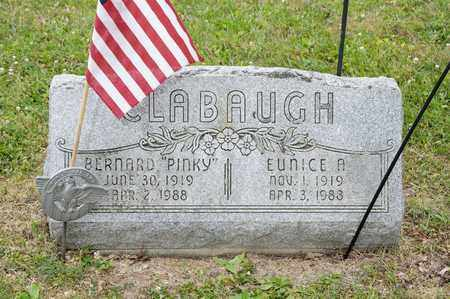 "CLABAUGH, BERNARD ""PINKY"" - Richland County, Ohio 