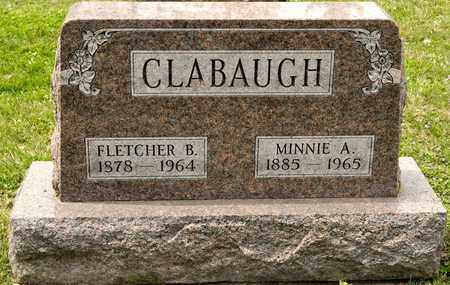 CLABAUGH, FLETCHER B - Richland County, Ohio | FLETCHER B CLABAUGH - Ohio Gravestone Photos