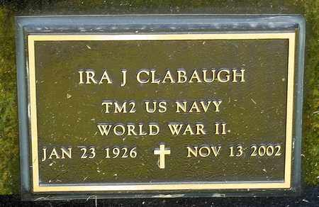 CLABAUGH, IRA J - Richland County, Ohio | IRA J CLABAUGH - Ohio Gravestone Photos